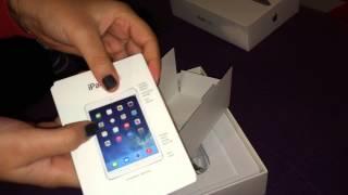 iPad Mini 2 (Wi-Fi + Cellular) & Smart Case - Fast Unboxing!