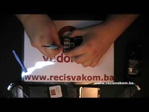 Prt 1: Nokia N82 Disassembly & Replace Cover / Rasklapanje & zamjena Oklopa
