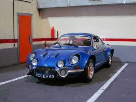 alpine renault a110 1600s solido scale 1 18 youtube. Black Bedroom Furniture Sets. Home Design Ideas