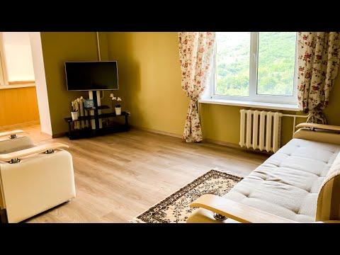 Продается 2-х комнатная квартира в Партените с новым ремонтом и видом на море