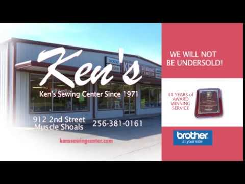 Ken's Sewing Center - Spring TV Spot featuring Brother