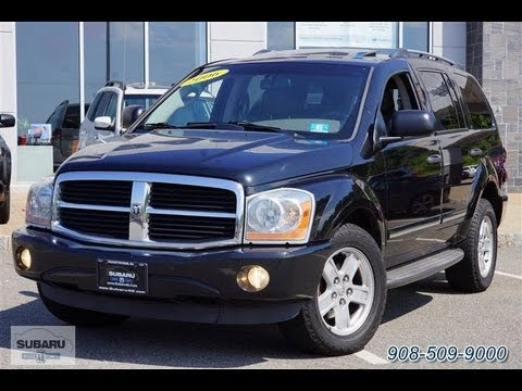 2006 dodge durango limited 5 7 hemi 4wd youtube. Black Bedroom Furniture Sets. Home Design Ideas