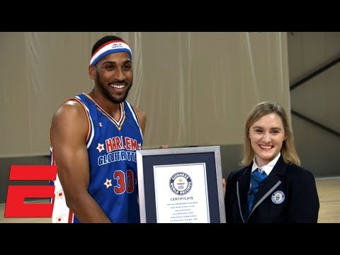 DJ Frosty - Harlem Globetrotters set 5 Guinness World Records in one day