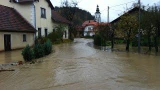 Poplave, november 2012 - Zg. Savinjska dolina