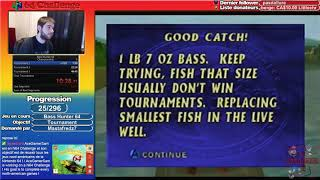 #25 N64 Challenge - Bass Hunter 64