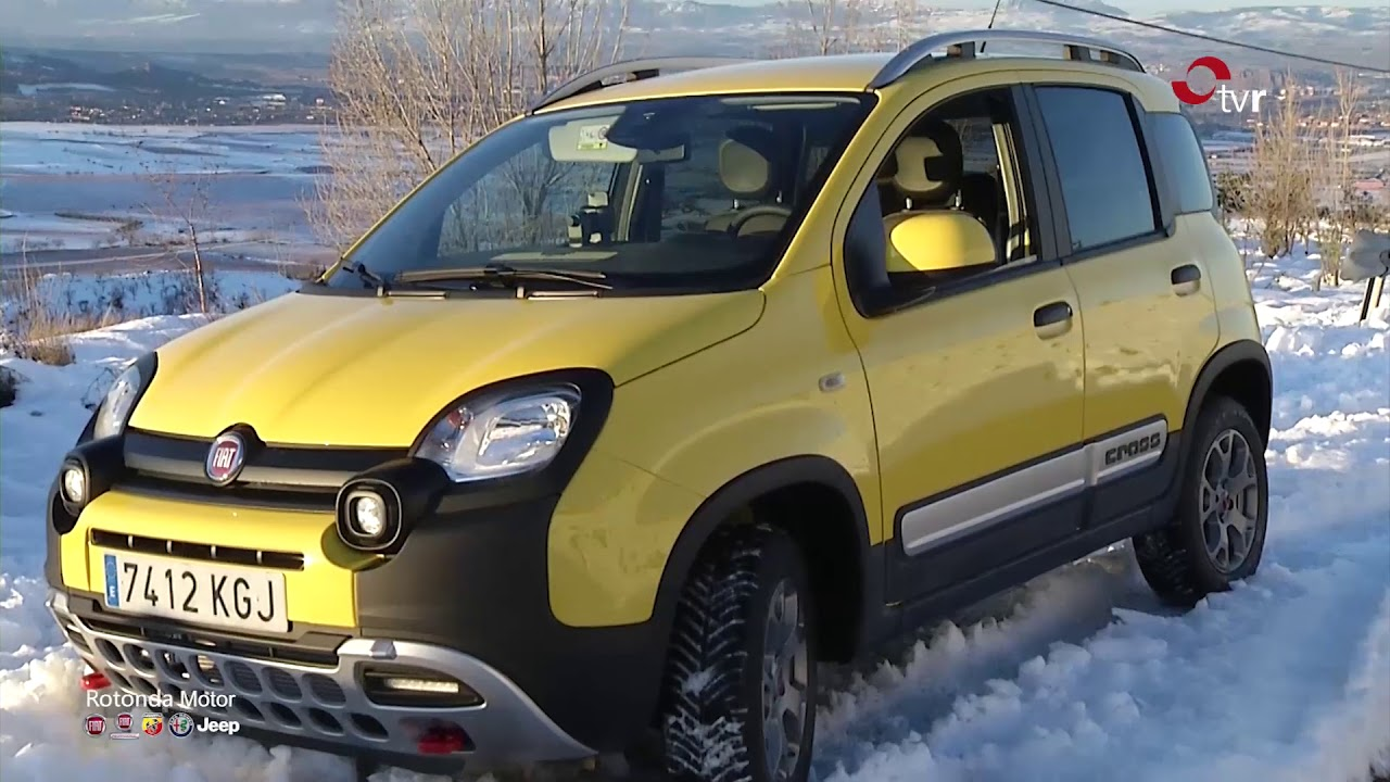 Fiat panda 4x4 en rotonda motor youtube for Panda 4x4 youtube