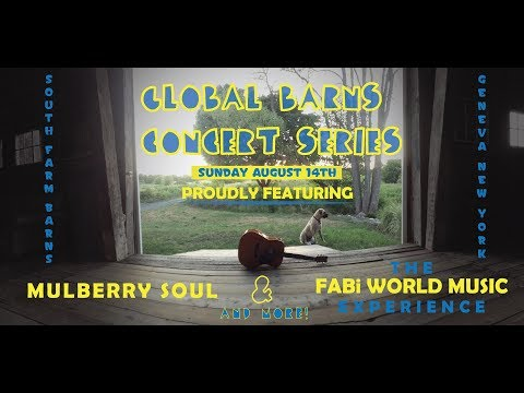 FABI~ GLOBAL BARNS CONCERT SERIES LIVE 2016