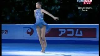 2008 World Championship Ex Kim Yu-na [Only Hope] (Russia Eurosport )