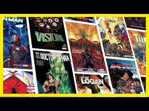 Hundreds of new Marvel Graphic Novels are Only 99 Cents Right Now