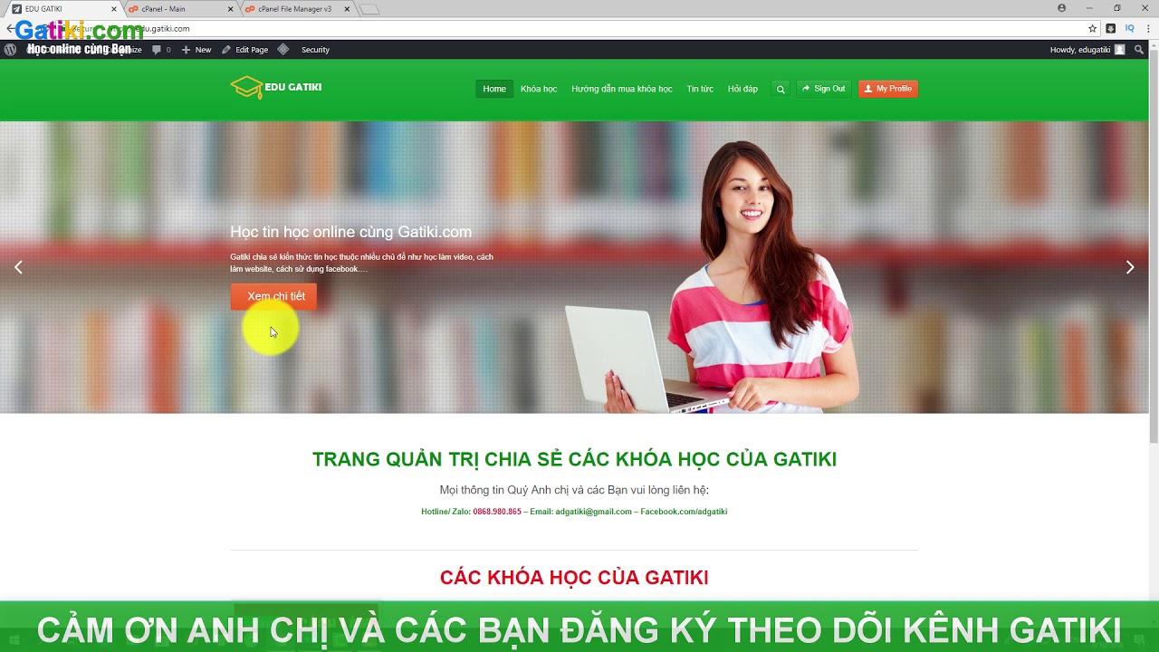 Chữa lỗi HTTP Error 500
