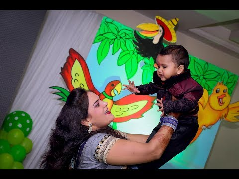 PHOOL JAISI MUSKAAN | RUDRA | 1ST BIRTHDAY | HIGHLIGHTS | VIDEOGRAPHY |