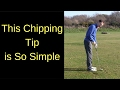 STRIKE YOUR CHIP SHOTS - ONE SUPER SIMPLE GOLF TIP