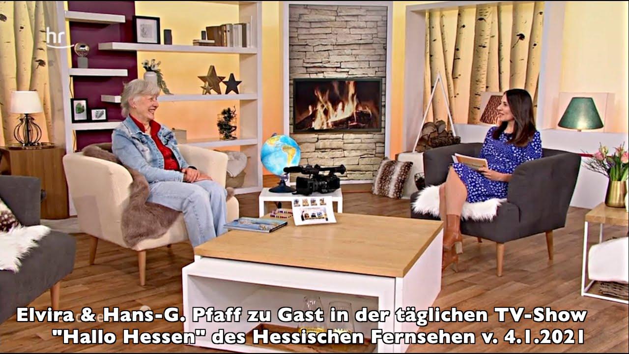Elvira & HG. Pfaff zu Gast beim TV-Talk im Hess. Fernsehen (ARD).