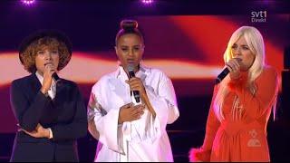 Seinabo Sey, Maja Francis och Amanda Bergman - Last days of dancing @ Globen 2015