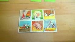 Regeln für Bauernhof Lotto - Spielanleitung