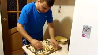 Закуска к пиву сухари видео рецепт (Вкус няшкино)