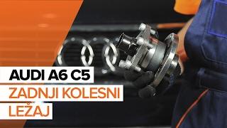 Kako zamenjati Kolesni lezaj AUDI A6 Avant (4B5, C5) - spletni brezplačni video