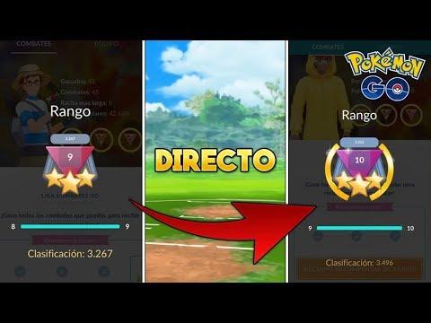 DIRECTO! PROBANDO A HYPNO En BATALLAS ONLINE En RANGO 9 - Pokémon Go