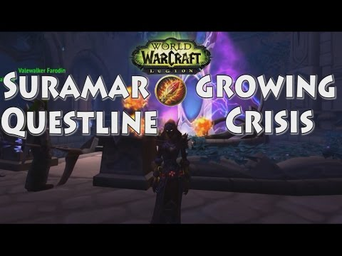Suramar, A Growing Crisis - Legion - Mage Pt.55