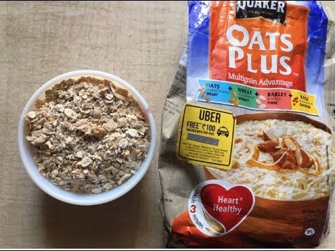 Quaker Oats Plus Recepie Indian Style Oats Healthy Breakfast Recepie