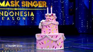Kesel!Kue Selebriti Nyanyi 'Dunia Belum Berakhir', Denny Candra Emosi |The Mask Singer S2 Eps.2(2/6)