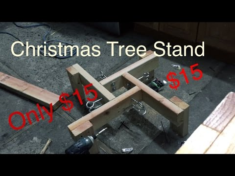 how to build christmas tree stand for cheap 15 - Cheap Christmas Tree Stands