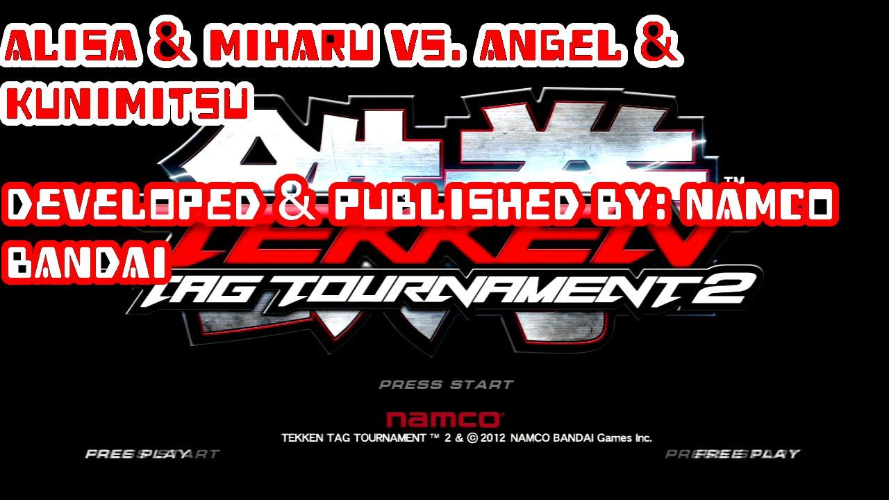 Tekken Tag Tournament 2 Part 4 Alisa & Miharu Vs Angel ...