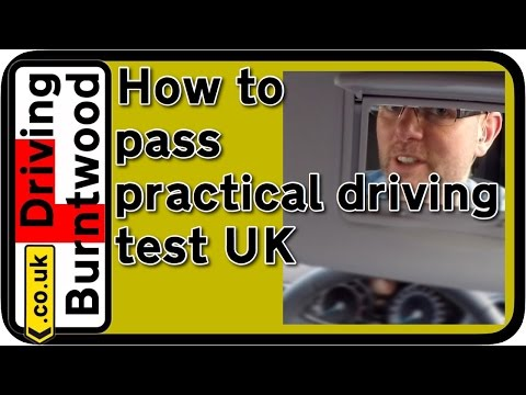 Practical Driving Test tips UK, how to pass POV with pedal cam in Lichfield 2016 🛣🚗💨🚦