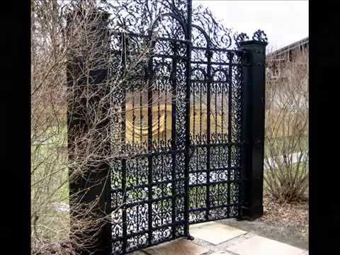 Garden Gate Garden Gate Wrought Iron Garden Gate Garden Gate Schmiedeeisen