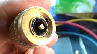 hvac how to maintain good tight refrigerant hoses