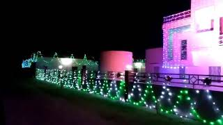 Light decoration house