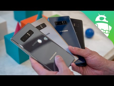 Samsung Galaxy Note 8 Color Comparison: Which One Will You Choose?