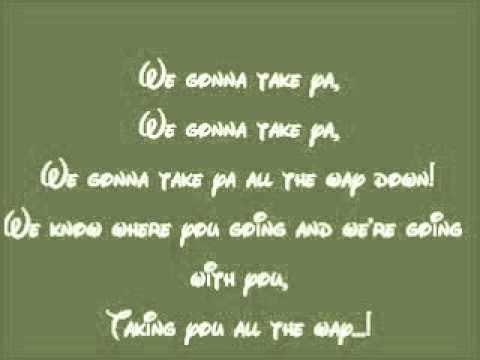 The Princess and the Frog-Gonna Take You There Lyrics