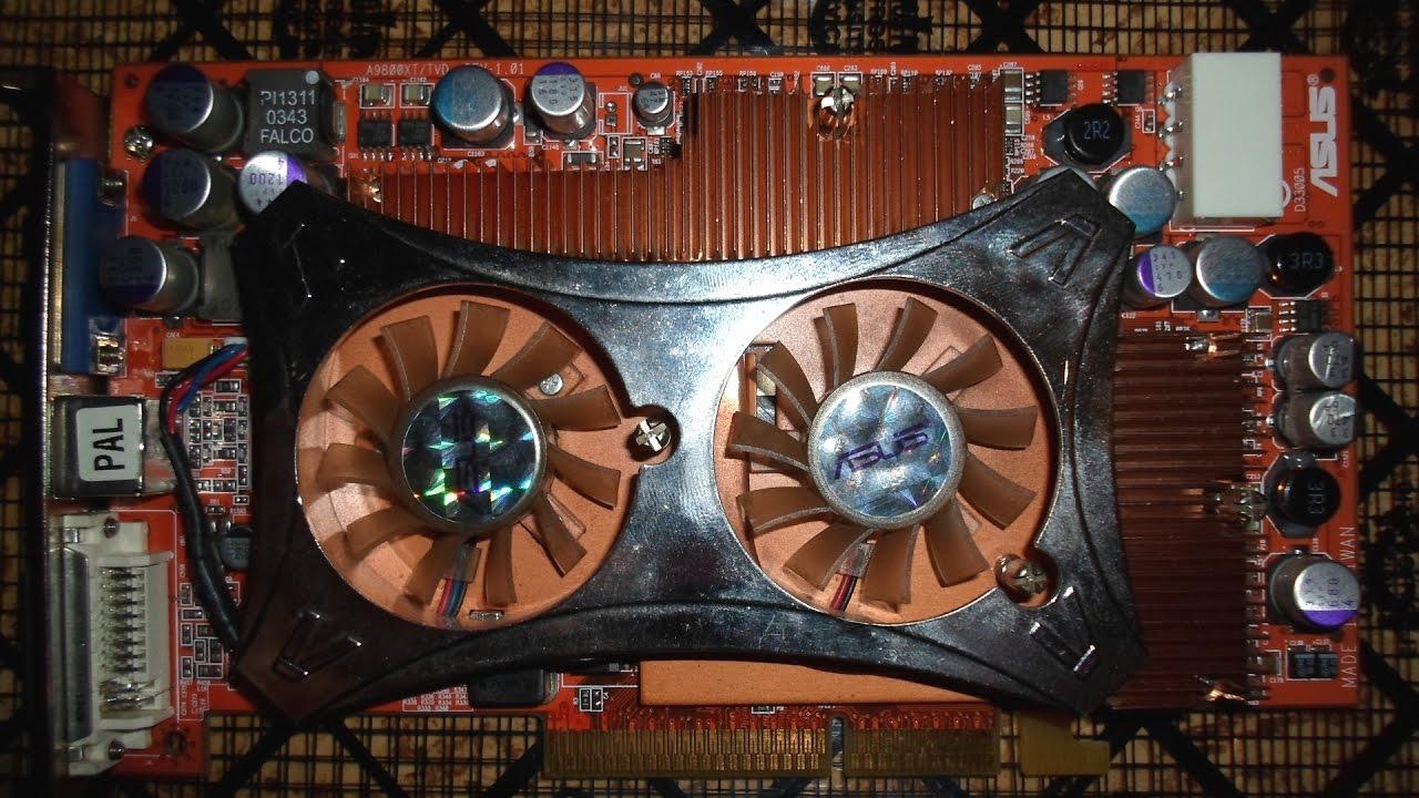 Asus Radeon 9800XT Problem