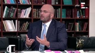كل يوم -  د. باسم السواح - المرشح الرئاسي المحتمل: عنوانى فى اول سنة هو ظبط الشارع المصري
