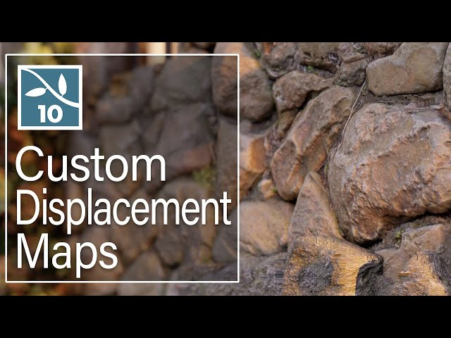LUMION 10: Custom Displacement Maps