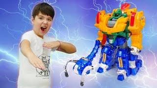 Роботы МЕТАЛИОНЫ для мальчиков: Стим Смит захватил игрушки! Видео про игры для мальчиков