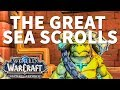 The Great Sea Scrolls WoW Quest
