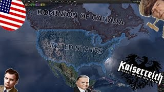 Hearts of Iron IV Kaiserreich - USA [9] Messing around with Mexico