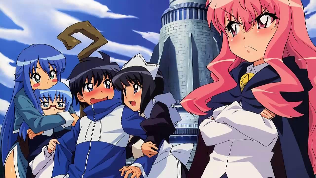 Animek24: Zero no Tsukaima: Princesses no Rondo