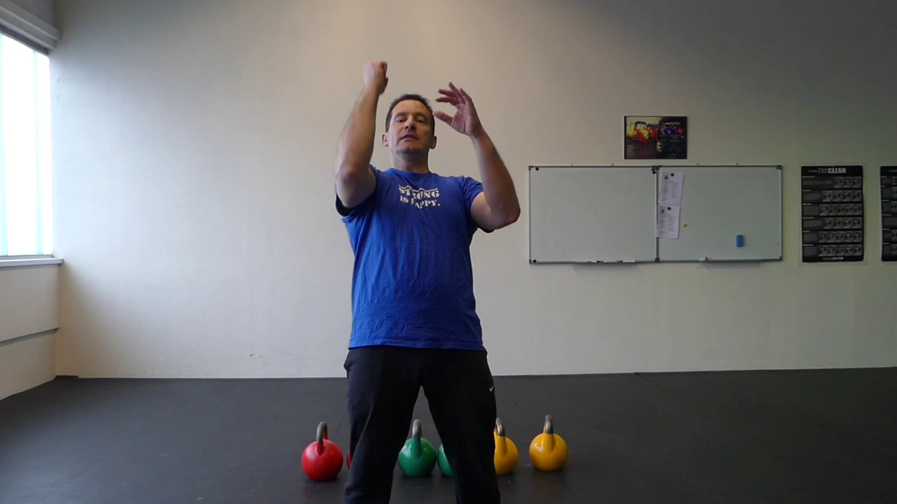 Kettlebell Press - Push Press - Jerk