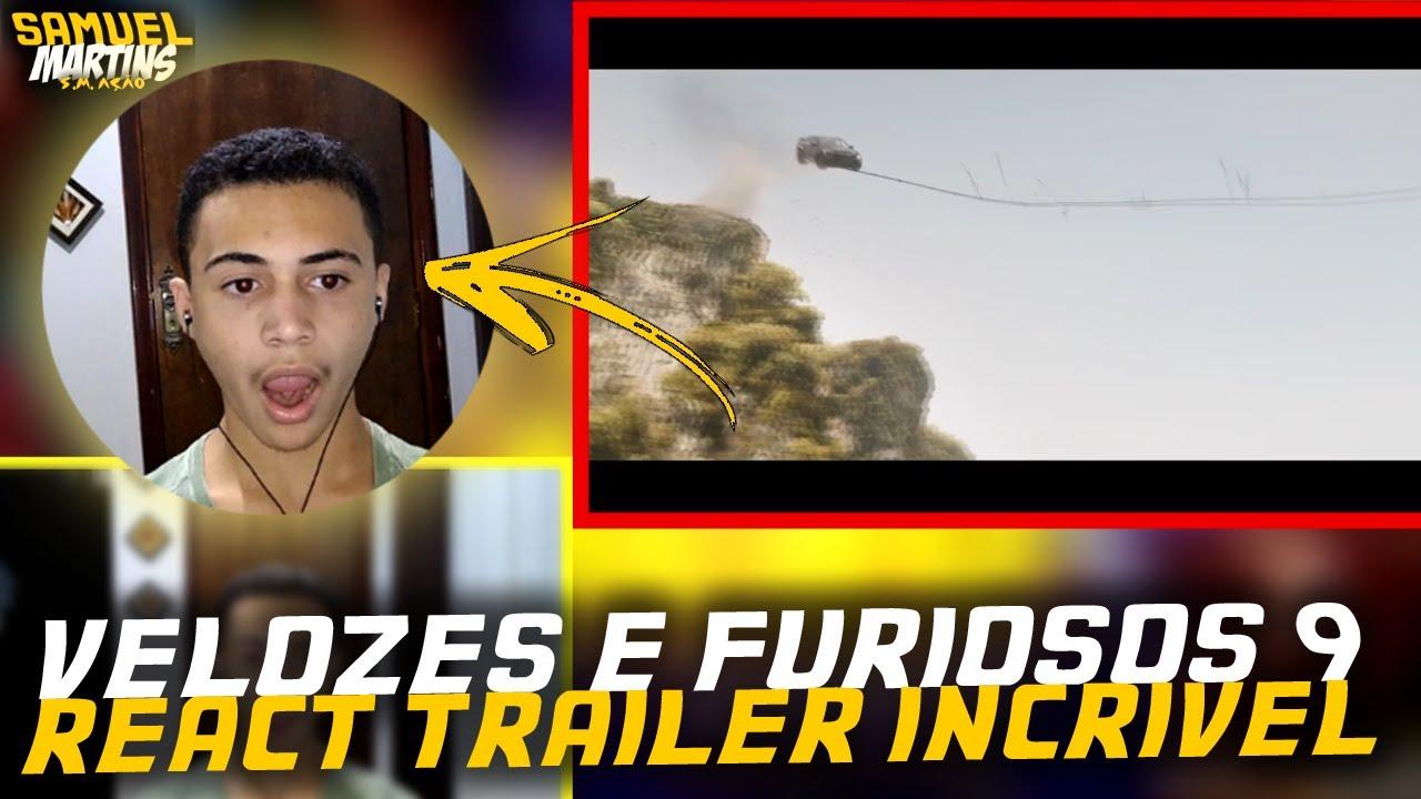 Velozes & Furiosos 9 – Trailer Oficial Assistindo React