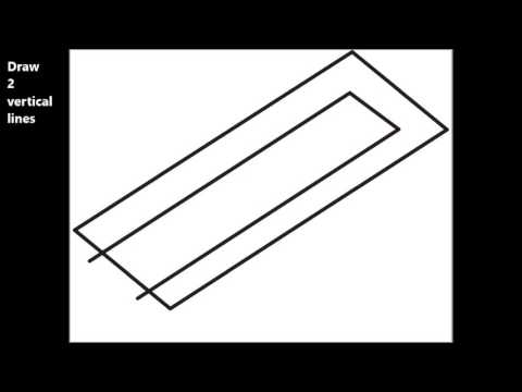 how to draw optical illusions easy step by step 3 prongs drawing tutorial for kids youtube. Black Bedroom Furniture Sets. Home Design Ideas