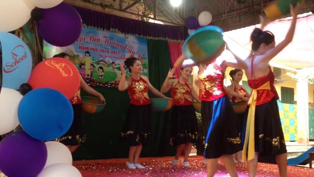 Múa Vui Hội Mùa  GV Trường MN Thị Trấn Phong Châu  Huyện Phù Ninh  Tỉnh Phú Thọ