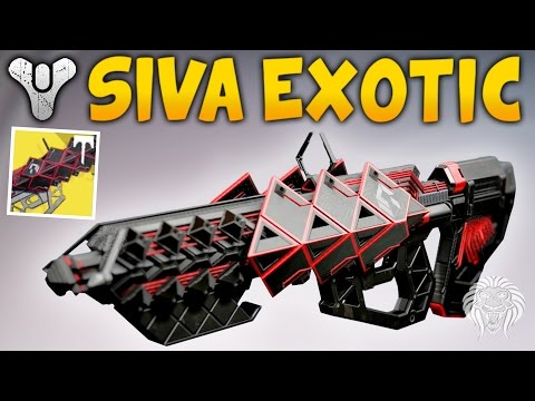 Destiny: OUTBREAK PRIME GAMEPLAY! Exotic Raid SIVA Pulse Rifle Review & Perks (Rise of Iron)
