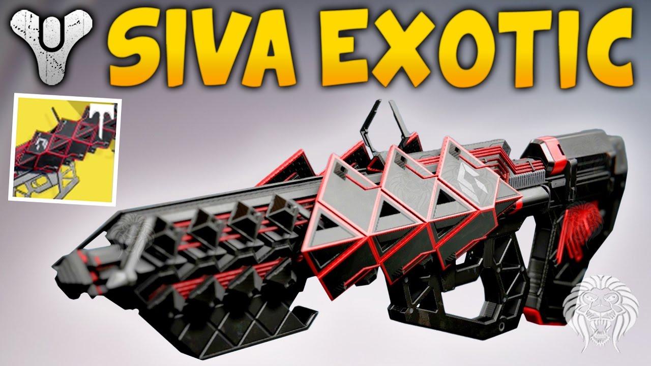 Destiny Outbreak Prime Gameplay Exotic Raid Siva Pulse Rifle