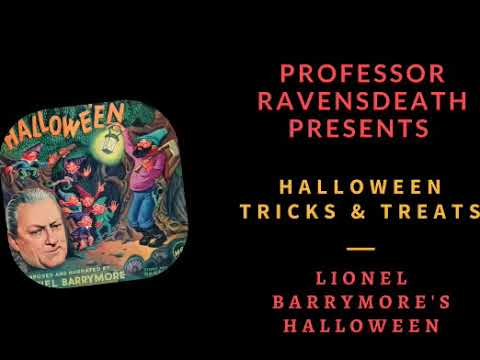 Lionel Barrymore's Halloween 78 RPM   1945