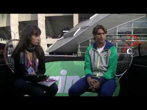 David Ferrer Interview on the Prince Paris Tour