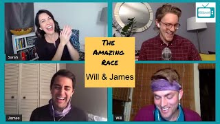 THE AMAZING RACE 32 @Will and James INTERVIEW / TAR32 CHAT w/ THE PURPLE TEAM⎰Nerdtainment