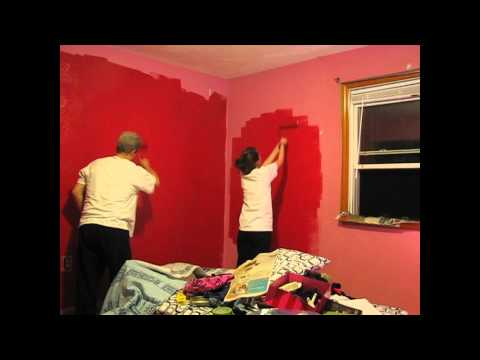 Painting My Room Red : Day 1!